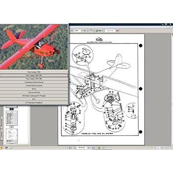 Cessna 120 140 Service Maintenance Library + Engine