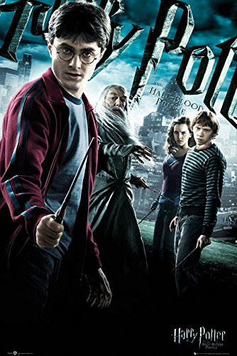 Click for larger image of Harry Potter And The Half-Blood Prince - Movie Poster / Print (Regular Style) (Size: 24' x 36') (By POSTER STOP ONLINE)