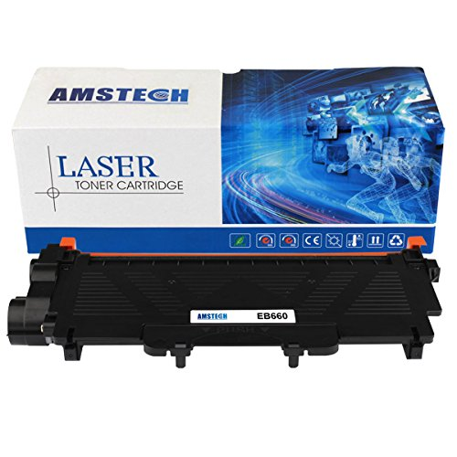 1 Pack Amstech 2,600 Pages Compatible Black Toner Cartridge Replacement For Brother TN-660 TN660 TN 660 For Brother HL-L2340DW HL-L2300D HL-L2360DW MFC-L2700DW MFC-L2740DW DCP-L2540DW DCP-L2520DW