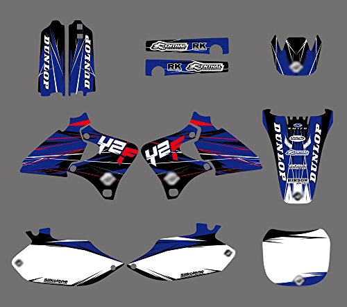 0033 Customized Motorcross Motorcycle Decals Stickers Graphics for DECALS STICKERS Kits for Yamaha YZ250F YZ400F YZ426F YZF 1999 2000 2001 2002 -