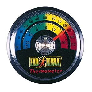 Exo Terra Thermometer, Celsius and Fahrenheit 48