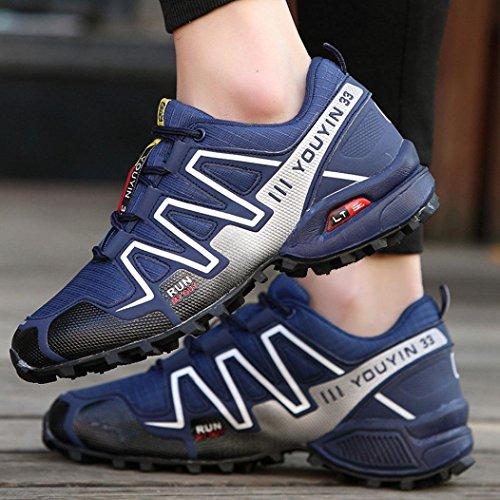 Scarpe Uomo Sneakers ASHOP Corsa da Atletiche Scarpe Blu Trekking Uomo Scuro da Sportive Scarpe Uomo Scarpe All'Aperto da da Ginnastica Scarpe Trekking da fHHdrqxw