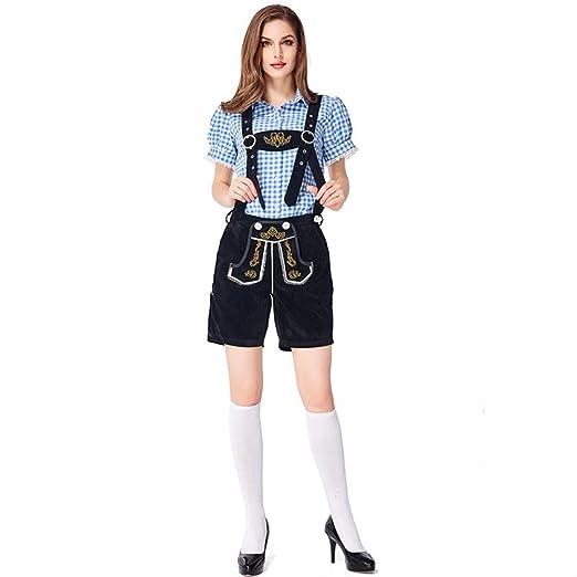 HG-amaon Disfraces de la Pareja Alemana Oktoberfest, Ropa de ...