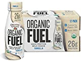 Cheap Organic Valley, Organic Fuel High Protein Milk Shake, 26G Protein, Vanilla, 11 Ounces (Pack of 12)