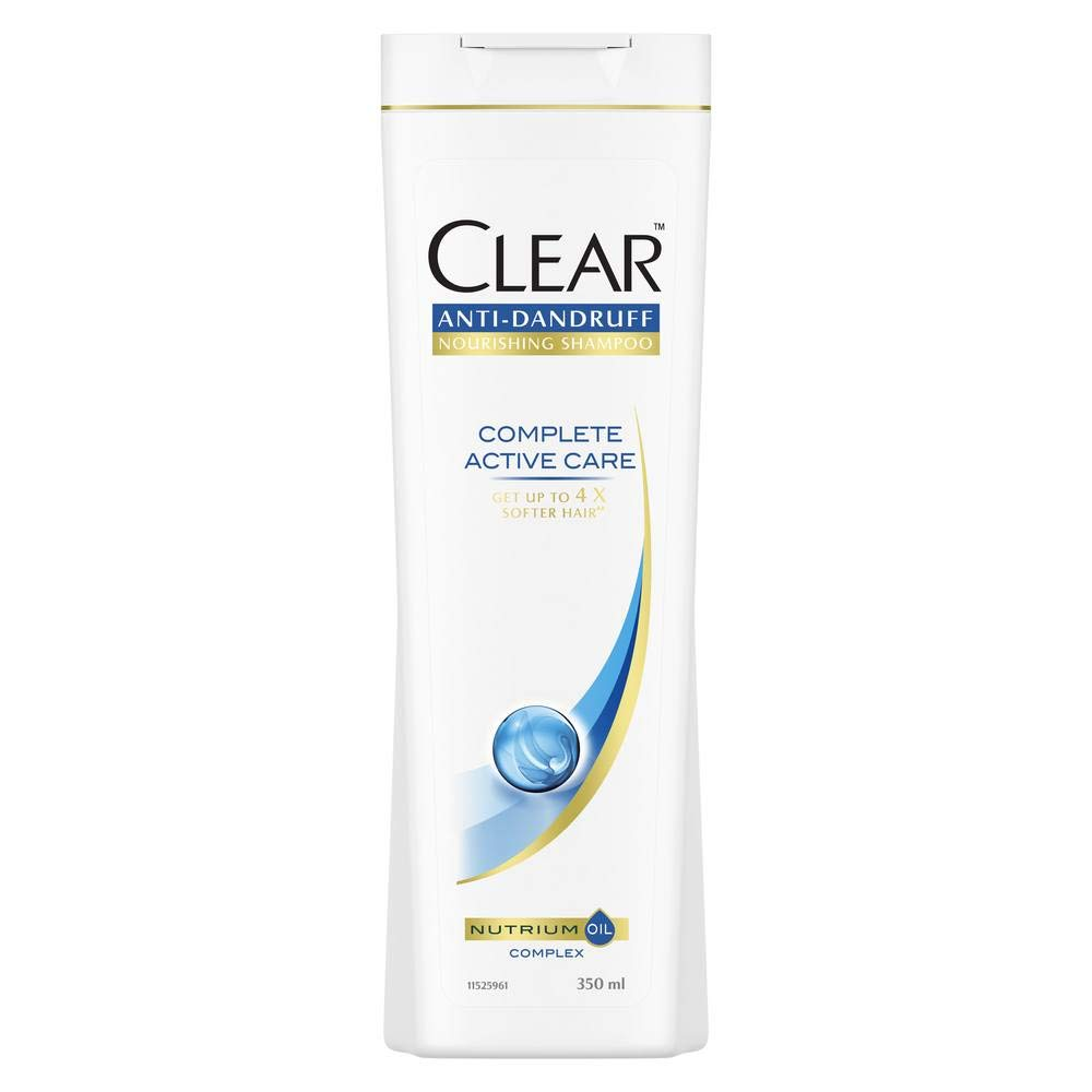Clear Complete Active Care Anti Dandruff Shampoo, 350 ml