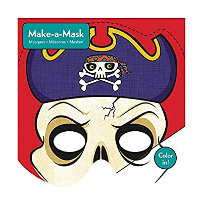 Mudpuppy Pirates Make-a-Mask: Mudpuppy, Robertson, Michael: Toys & Games