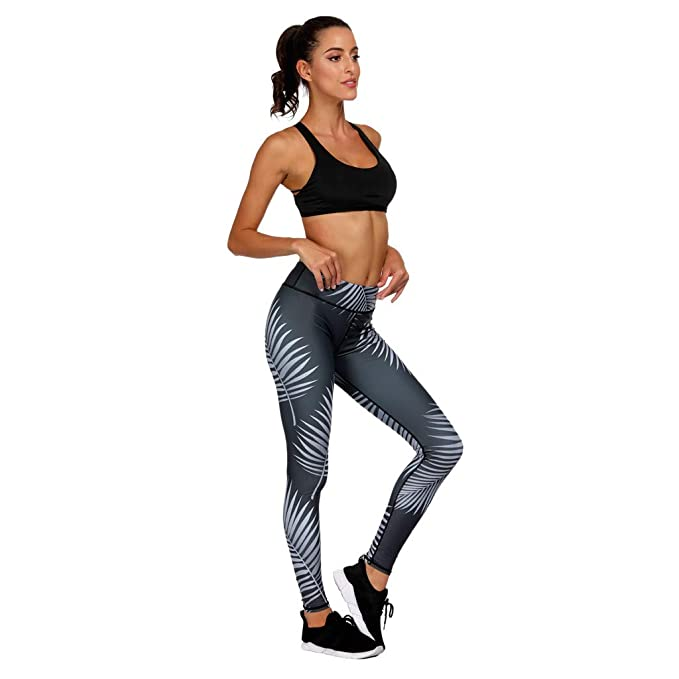 57dbbdfc285c8 Amazon.com: IAMUP Ladies and Girls Yoga Pants Leggings Fitness Sports Gym  Exercise Running Jogging Best Sport Vintage Pants: Clothing
