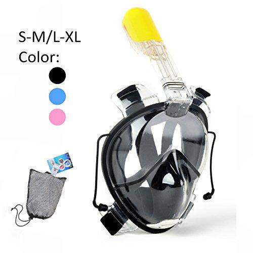 Designed Full Face Panoramic View Anti Leak Breathing product image
