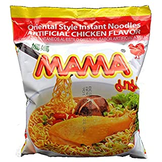 Oriental Style Instant Noodles (Artificial Chicken Flavor) - 1.94oz (Pack of 10)