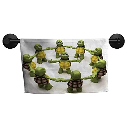 Amazon.com: alisoso Reptile,Fade-Resistant Towel Ninja ...