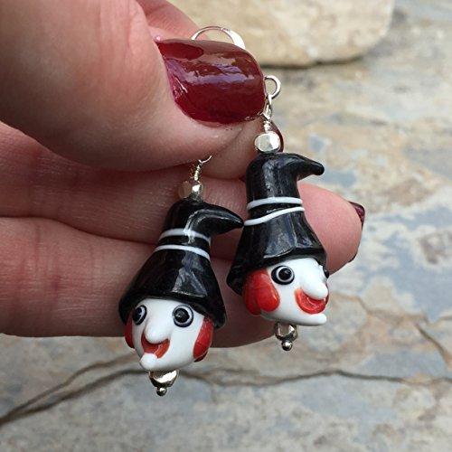Halloween Witch Earrings]()