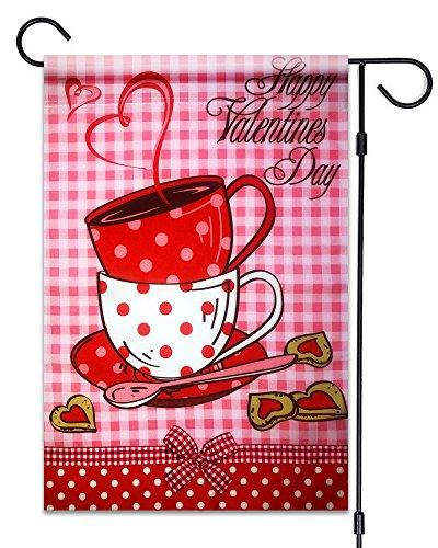 51groups Happy Valentine's Day Garden Flag 12