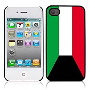 The national flag of Kuwait Hard Plastic and Aluminum Back Case for Apple iphone 4 4S