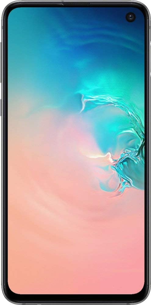 Samsung Galaxy S10e, 128GB, Prism White - Fully Unlocked (Renewed)
