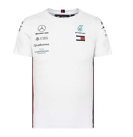 4f5ce4cd7c96e Amazon.com   Mercedes-AMG Petronas Motorsport 2019 F1 Kid s Team T ...