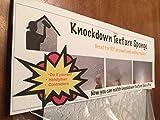 Knockdown Texture Drywall Repair Sponge