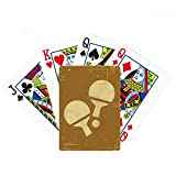 Table Tennis Sport Illustration Pattern Poker Playing Card Tabletop Board Game Gift