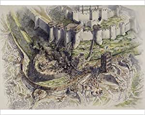 Photographic Print of Dover Castle siege J020153
