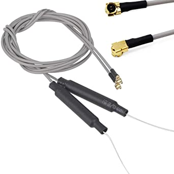 RUIZHI Antena receptora 2.4G de 500 mm para Frsky X4R X4RSB XM XM + R-XSR Antena de repuesto IPEX 4 V4 Puerto S6R S8R F30 F3OP F40 F4OP