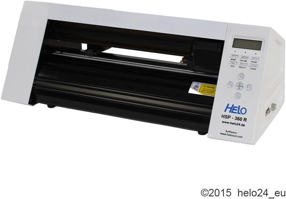 HSP 360r Plóter incl.Helo Cut 5 Master Edition: Amazon.es: Oficina y papelería