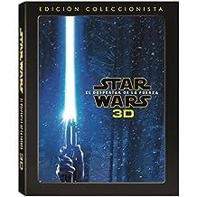 Star Wars Episodio VII : El Despertar De La Fuerza - Star Wars: The Force Awakens Blu Ray 3D Episode VII 7 Collector's Edition
