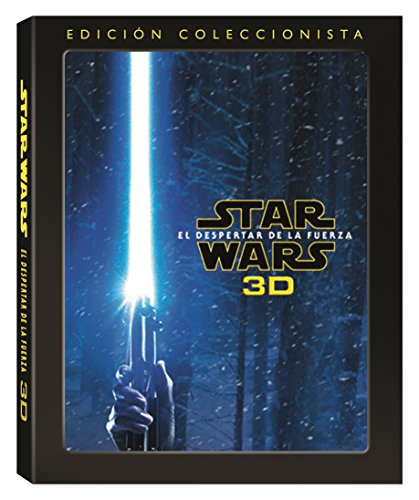 Star Wars Episodio VII : El Despertar De La Fuerza - Star Wars: The Force Awakens Blu Ray 3D Episode VII 7 Collector's Edition [Non-usa Format: Pal -Import- Spain ]
