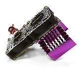 750 rc motor - Integy RC Model Hop-ups C23137PURPLE Super Motor Heatsink+Twin Cooling Fan 750 for Traxxas Summit