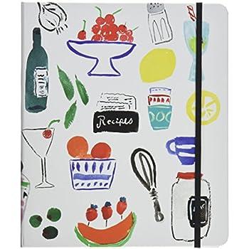 Kate Spade New York Recipe Book White