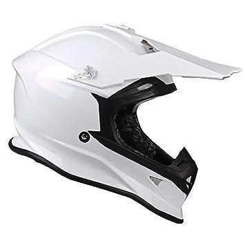 LAZER X8 X-Line - Casco integral de cara pura, color blanco