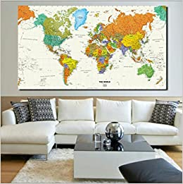 Buy total homerand mcnally world map50 32 2018 nautical ocean buy total homerand mcnally world map50 32 2018 nautical ocean sea world map retro old art paper home decor living room poster cafe antique poster gumiabroncs Gallery