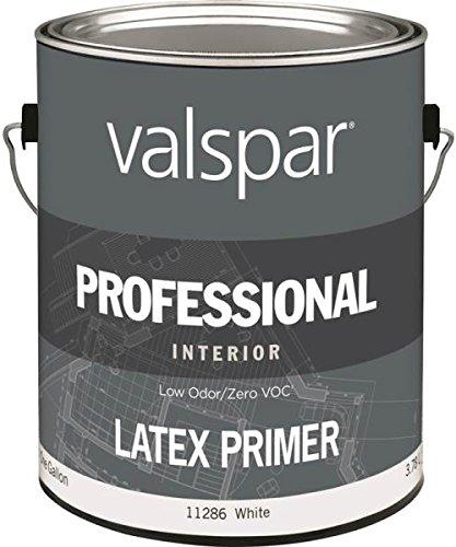 Valspar 11286 Voc Compliant Interior Latex Primer, Professional, Gallon