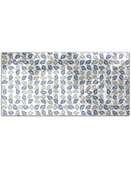 Leaves Collection Rectangle Tablecloth Large Dining Room Kitchen Woven Polyester Custom Print