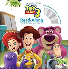amazon toy story 3 read along storybook and cd disney book group