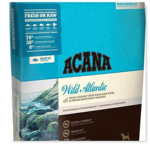 ACANA Wild Atlantic Dry Dog Food Wild New England Fish & Fresh Kentucky Greens