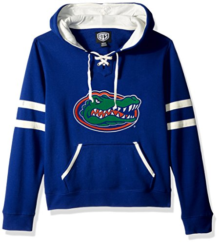 NCAA Florida Gators Women's Ots Grant Lace Up Pullover Hood, X-Large, Royal