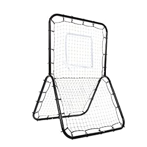 ANCHEER Baseball and Softball Rebounder Pitch Back Net Training Screen