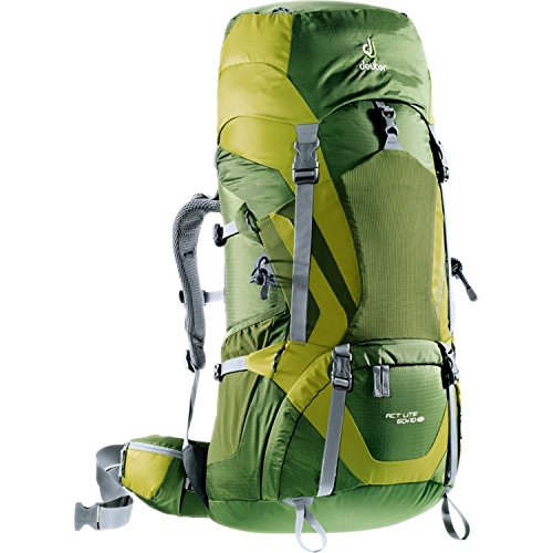 Deuter ACT Lite 60+10 - Discontinued, Pine/Moss (Deuter Backpack Mens)