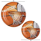 102 Piece Basketball Party Supplies Set Including