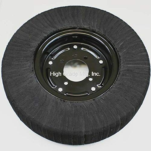 "High Grade Tail Wheel, 21"" Laminated TIRE for Rotary Cutter Mower, 4 Bolt Pattern"
