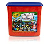 Crayola Ultimate Outdoor Activity Set, Outdoor Toys and Games, 35 Pieces, Gift