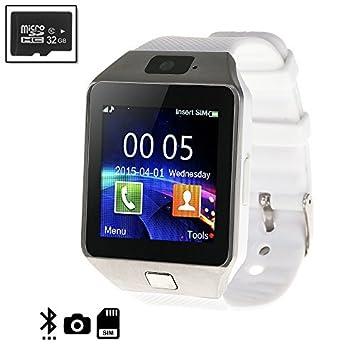DAM - Smartwatch Tekkiwear Daam N236 White + Micro Sd De ...
