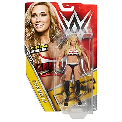 WWE Basic Carmella Figure: Toys & Games