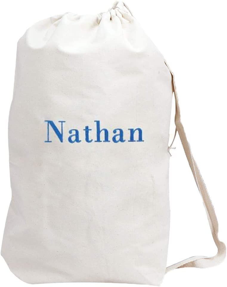 "GiftsForYouNow Embroidered Any Name Laundry Bag, Drawstring, 19"" x 27"""