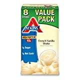 Atkins Ready To Drink Shake,French Vanilla, 8 Count (Packaging May Vary)