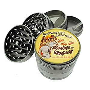 "Titanium 4 PC Magnetic Grinder 2.1"" Hand Mueller D-173 Two Zanies On A Zombie Hunt"