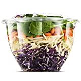 48 Ounce Clear Plastic Disposable Salad