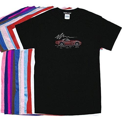 (Red Corvette - Rhinestone Unisex T-Shirt)