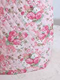 kitchenaid mixer pink cover - KitchenAid Mixer Cover - Shabby Chic Pink Roses Design with Paisley Reverse - Reversible Quilted Kitchen Appliance Dust Cover - Size and Pocket Options