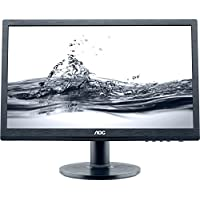 E2060SWDA-TAA - AOC E2060SWDA-TAA AOC E2060SWDA - LED monitor - 19.5 - 1600 x 900 - 220 cd/m2 - 5