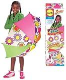 ALEX Toys Craft Paint Your Umbrella Kit